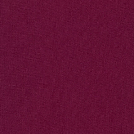 Kona Bordeaux, Solid Fabric, Robert Kaufman, [variant_title] - Mad About Patchwork
