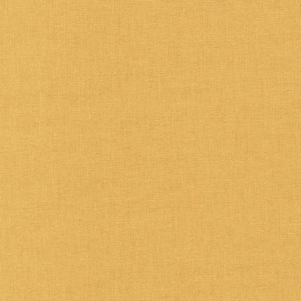 Kona Butterscotch, Solid Fabric, Robert Kaufman, [variant_title] - Mad About Patchwork