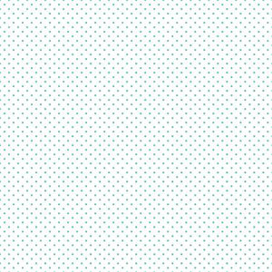 Swiss Dot Teal on White, Designer Fabric, Riley Blake Designs, [variant_title] - Mad About Patchwork