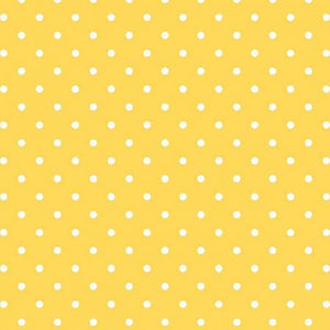 Swiss Dot White on Yellow, Designer Fabric, Riley Blake Designs, [variant_title] - Mad About Patchwork