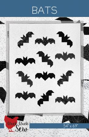 Cluck Cluck Sew —Bats, Pattern, Cluck Cluck Sew, [variant_title] - Mad About Patchwork