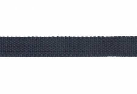 "1"" Cotton Strapping / Webbing Navy"