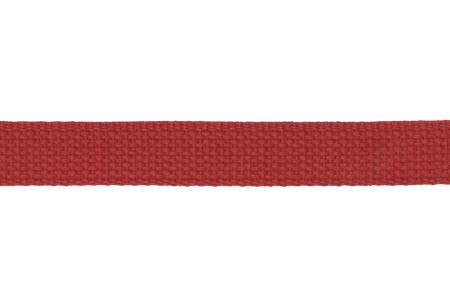 "1"" Cotton Strapping / Webbing Red, Hardware, Dritz, [variant_title] - Mad About Patchwork"