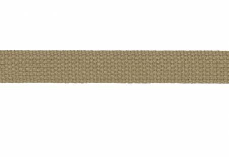 "1"" Cotton Strapping / Webbing Tan, Hardware, Dritz, [variant_title] - Mad About Patchwork"