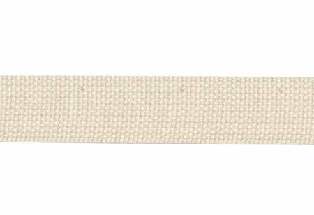 "1-1/2"" Cotton Webbing / Strapping Natural, Hardware, Moda, [variant_title] - Mad About Patchwork"