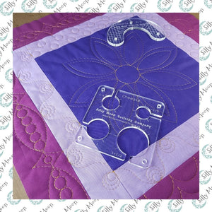 Petals and Swirls Quilting with Rulers on your Domestic Machine!