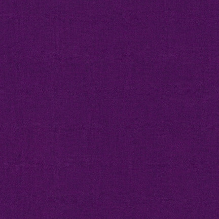 Kona Dark Violet, Solid Fabric, Robert Kaufman, [variant_title] - Mad About Patchwork