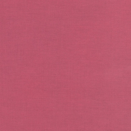 Robert Kaufman Kona Cotton K001-1099 Deep Rose