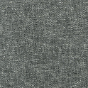 Essex Yarn-Dyed in Black, Specialty Fabric, Robert Kaufman, [variant_title] - Mad About Patchwork