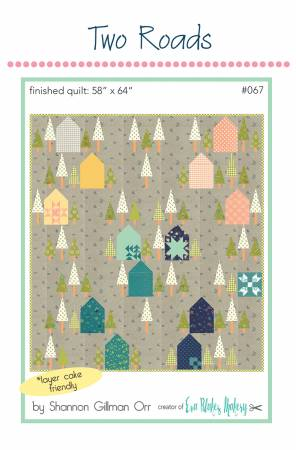 Two Roads Quilt Pattern From Eva Blakes Makery, Pattern, Mad About Patchwork, [variant_title] - Mad About Patchwork