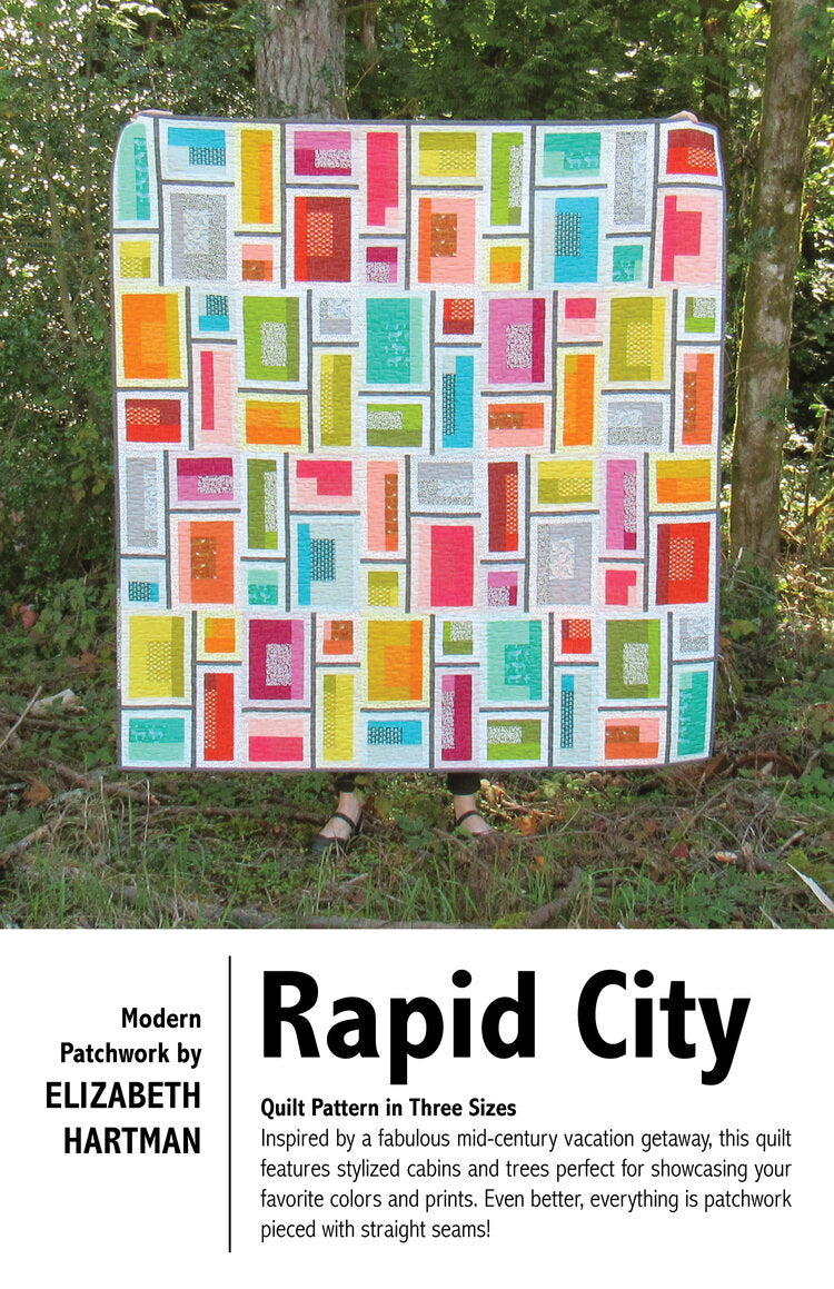 Elizabeth Hartman — Rapid City, Pattern, Elizabeth Hartman, [variant_title] - Mad About Patchwork