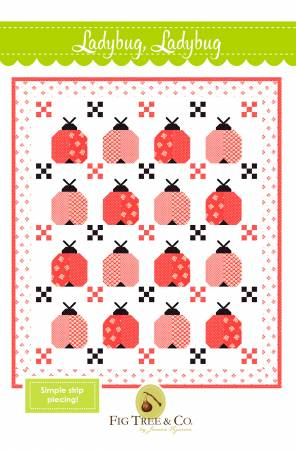 Ladybug, Ladybug, Pattern, Fig Tree Quilts, [variant_title] - Mad About Patchwork