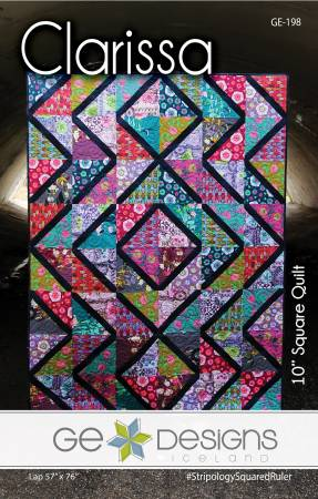 Stripology Mixer Pattern - Clarissa, Pattern, Ge Designs Iceland, [variant_title] - Mad About Patchwork