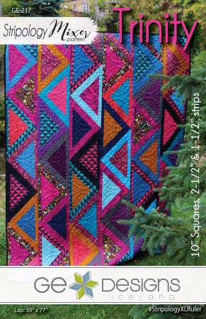 Stripology Mixer Pattern - Trinity, Pattern, Ge Designs Iceland, [variant_title] - Mad About Patchwork