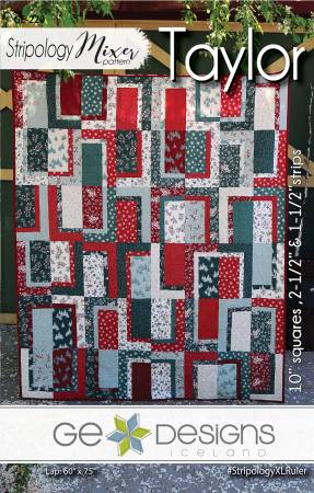 Stripology Pattern - Taylor, Pattern, Ge Designs Iceland, [variant_title] - Mad About Patchwork