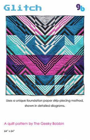 Glitch- Quilt Pattern, Pattern, Geeky Bobbin, [variant_title] - Mad About Patchwork