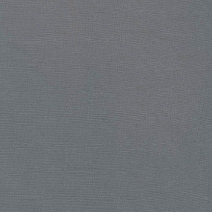 Robert Kaufman Kona Cotton K001-295 Graphite