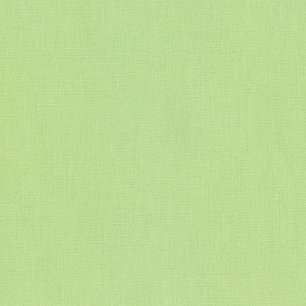Kona Honeydew, Solid Fabric, Robert Kaufman, [variant_title] - Mad About Patchwork
