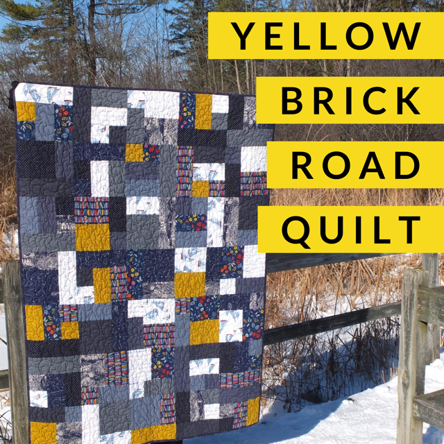 Learn to Quilt (Level 2) - Yellow Brick Road, Class, Mad About Patchwork, [variant_title] - Mad About Patchwork