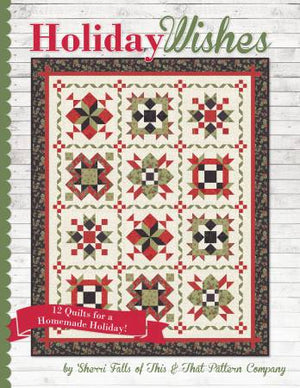 Holiday Wishes - Pattern Book, Pattern Book, Sew Emma, [variant_title] - Mad About Patchwork