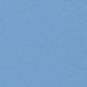 Kona Candy Blue, Solid Fabric, Robert Kaufman, [variant_title] - Mad About Patchwork