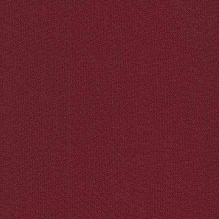 Kona Garnet, Solid Fabric, Robert Kaufman, [variant_title] - Mad About Patchwork