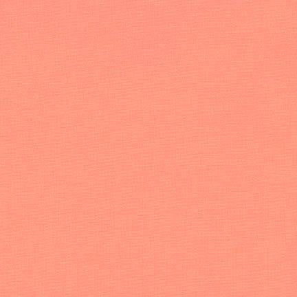 Kona Creamsicle, Solid Fabric, Robert Kaufman, [variant_title] - Mad About Patchwork