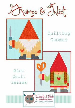 Gnomeo & Juliet, Pattern, Kelli Fannen Quilt Designs, [variant_title] - Mad About Patchwork