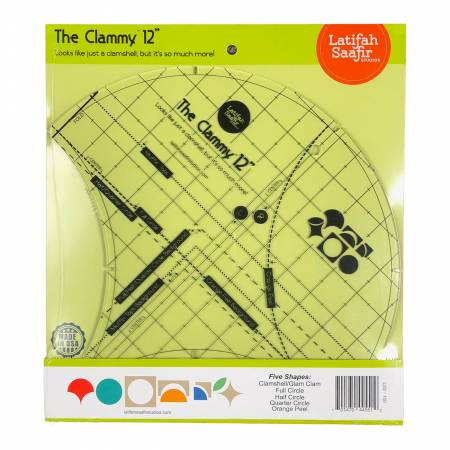 The Clammy 12, Ruler, Latifah Saafir Studio, [variant_title] - Mad About Patchwork