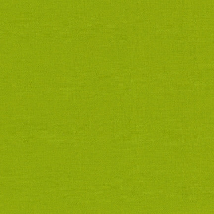 Robert Kaufman Kona Cotton K001-1192 Lime