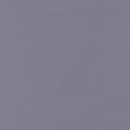 Robert Kaufman Kona Cotton K001-1223 Medium Grey
