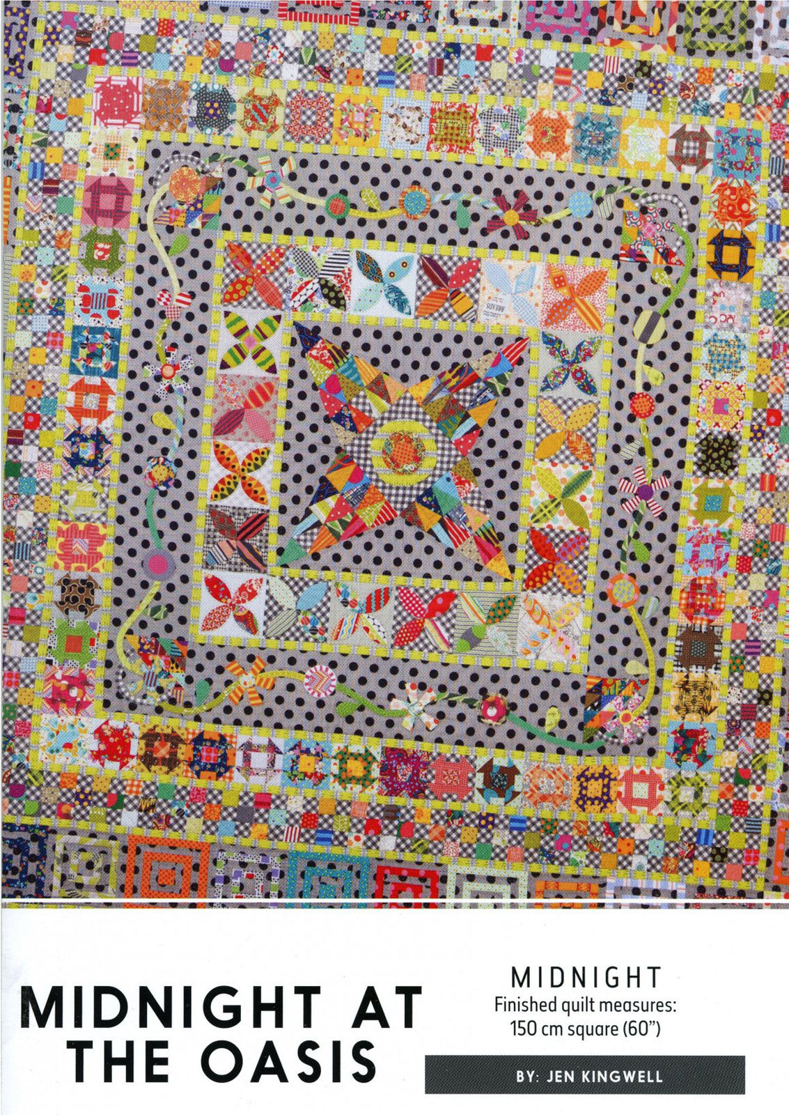 Jen Kingwell — Midnight at the Oasis, Pattern, Jen Kingwell Designs, [variant_title] - Mad About Patchwork