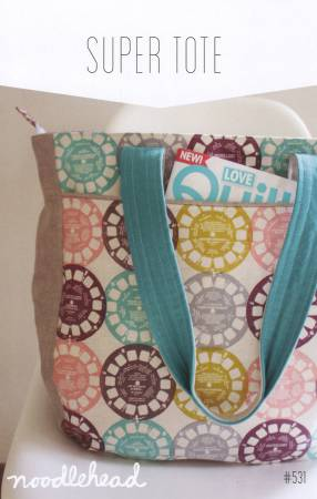 Noodlehead — Super Tote, Pattern, Noodlehead, [variant_title] - Mad About Patchwork