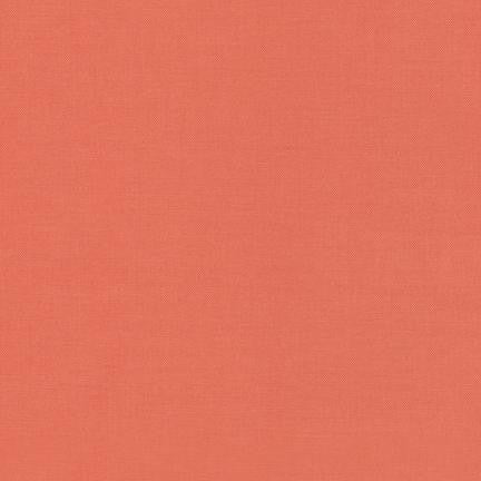 Kona Nectarine, Solid Fabric, Robert Kaufman, [variant_title] - Mad About Patchwork