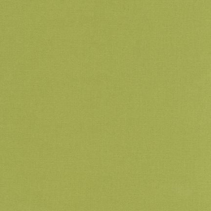 Robert Kaufman Kona Cotton K001-1263 Olive