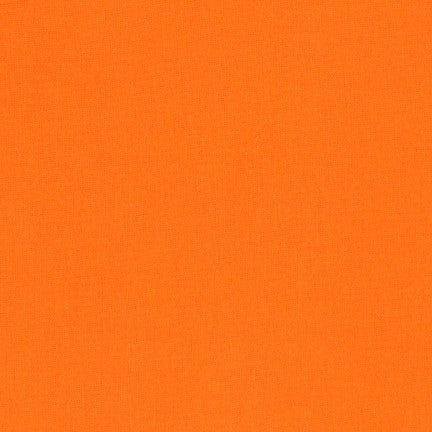 Kona Orange, Solid Fabric, Robert Kaufman, [variant_title] - Mad About Patchwork