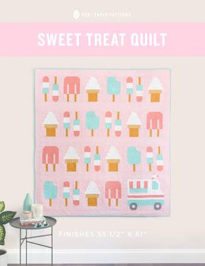 Sweet Treat Quilt - With Bonus TACO Quilt, Pattern, Pen + Paper, [variant_title] - Mad About Patchwork