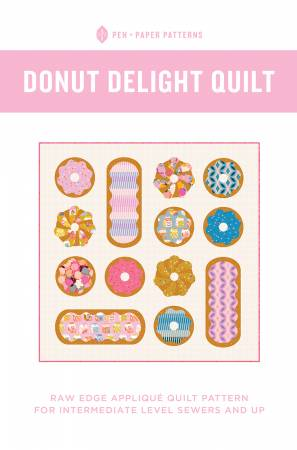 Pen + Paper Patterns —  Donut Delight Quilt, Pattern, Pen + Paper, [variant_title] - Mad About Patchwork
