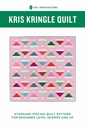 Pen + Paper Patterns — Kris Kringle Quilt, Pattern, Pen + Paper, [variant_title] - Mad About Patchwork