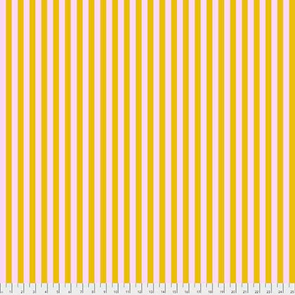 Tula Pink All Stars: Tent Stripe in Marigold, Designer Fabric, Freespirit, [variant_title] - Mad About Patchwork