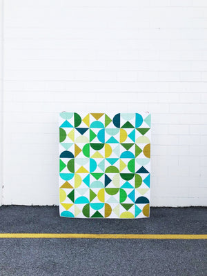 Curated Kona Bundle — Pivot Aqua Green, Solid Fabric, Robert Kaufman, [variant_title] - Mad About Patchwork