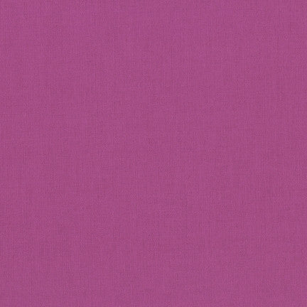 Kona Plum, Solid Fabric, Robert Kaufman, [variant_title] - Mad About Patchwork