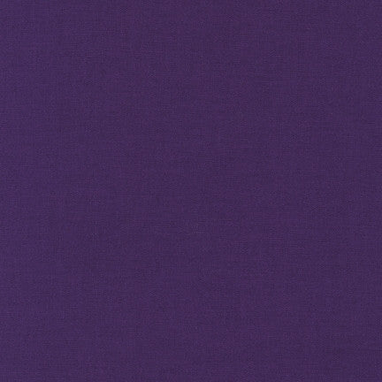 Kona Purple, Solid Fabric, Robert Kaufman, [variant_title] - Mad About Patchwork