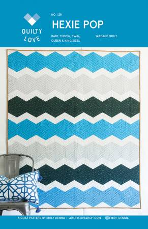 Hexie Pop - by Quilty Love, Pattern, Quilty Love, [variant_title] - Mad About Patchwork