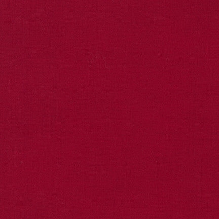 Kona Rich Red, Solid Fabric, Robert Kaufman, [variant_title] - Mad About Patchwork