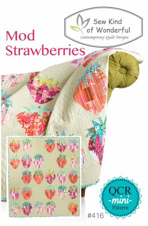 Sew Kind of Wonderful — Mod Strawberries, Pattern, Sew Kind of Wonderful, [variant_title] - Mad About Patchwork