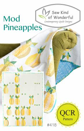 Sew Kind of Wonderful — Mod Pinneapples, Pattern, Sew Kind of Wonderful, [variant_title] - Mad About Patchwork