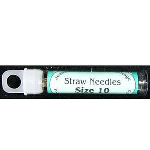 Straw Needles Size 10 16ct