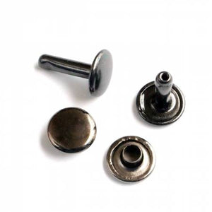 Rivets (Medium) Packages of 24, Hardware, Sallie Tomato, Gunmetal - Mad About Patchwork