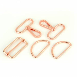 "1-1/2"" Sallie Tomato Basic Hardware Kit, Hardware, Sallie Tomato, Rose Gold - Mad About Patchwork"